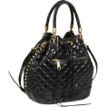 Rebecca Minkoff - Rebecca Minkoff Edged Quilt Confession Slouch Bag Black - Bag - $391.99