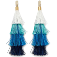 vespagirl - Rebecca Minkoff Stacked Tassel Earrings  - Earrings - $39.00