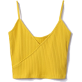 FECLOTHING - Retro V simple strap vest - Vests - $15.99
