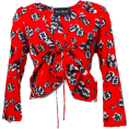 FECLOTHING - Retro sexy V-necked cardigan - Cardigan - $25.99
