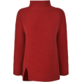 lence59 - Ribbed High Neck Jumper - Pulôver -