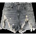 lence59 - Ripped Denim Shorts - Shorts -