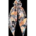 PaoM - Riverisland Tropical ponytail Scrunchie - Scarf -