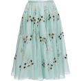Rocksi - Rochas Embroidered Organza Skirt by Moda - Skirts - 4,280.00€  ~ $4,983.20