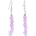 Mystic Self - Rose Quartz Dangle Earrings - Earrings -