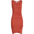 sandra  - Ruched Body-Con Tank Dress LEITH - Dresses -