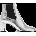 Nkara - SAINT LAURENT Loulou metallic textured-l - Čizme - £571.00  ~ 4.772,72kn