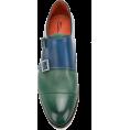 JecaKNS - SANTONI bicolour double monk strap shoes - Classic shoes & Pumps -