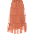 beautifulplace - SEE BY CHLOÉ Tiered cotton and silk skir - Skirts -