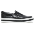 petri5 - SERGIO ROSSI Textured-leather  - Loafers -