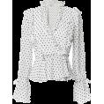 beautifulplace - SHONA JOY Wilder Ruffled Wrap Blouse - Long sleeves shirts -