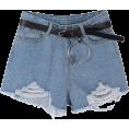 helloexo - SHORTS WITH BELT - Shorts -