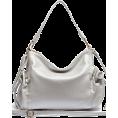 Mary Cheffer - SIDE POCKET HOBO BAG-SLVR - Hand bag - $55.00