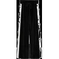 Mary Cheffer - SPORTS STRIPE LEG VELVET JOGGER PANTS - Uncategorized - $44.97