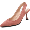 Mary Cheffer - SUEDE SLINGBACK PUMPS (3 COLORS) - Classic shoes & Pumps - $49.97
