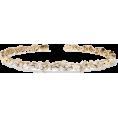 Evelin  - SUZANNE KALAN 18-karat gold diamond cuff - Bracelets -