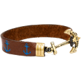 lence59 - Sailor Leather Bracelet - Bracelets - $48.00