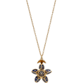 glamoura - Santo by Zani 14K Gold, Enamel And Diamo - Necklaces -