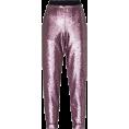 Aida Susi Silva - Sequined Slim Pants - AMARO - Capri hlače -