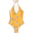 Vicky Nixon - Shein Flower Print V Plunge Swimsuit - Uncategorized - $34.00  ~ 29.20€