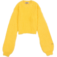aestheticbtch - Short Length Shaggy Knit - Pullovers -