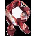 Amelia  - Silk Twill India Garden Scarf - Scarf - $89.40