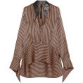 lence59 - Silk Blouse - Long sleeves shirts -