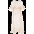 Mees Malanaphy - Silk ruffled sleeve kimono - Dresses -