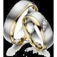 Bev Martin - Silver & Gold Wedding Rings - Rings -