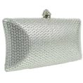 Mees Malanaphy - Silver clutch bag - Clutch bags -
