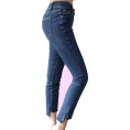 Georgine Dagher - Slim-fit high-waist short-length long st - Jeans -