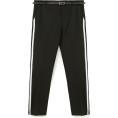 lence59 - Smart trousers with belt and side stripe - Capri & Cropped - £19.99  ~ $26.30
