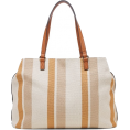 Jungwon Paik - Sole Society Stripe Print Tote - Hand bag -