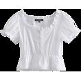 FECLOTHING - Solid color short-sleeved ruffled shirt - Košulje - kratke - $25.99  ~ 22.32€