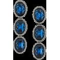 ValeriaM - Stella McCartney Blue Stone earrings - Earrings -