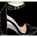 Aurora  - Steve Madden Black Sandals - Sandals -