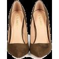 lence59 - Stiletto Pump - Olive - Classic shoes & Pumps -