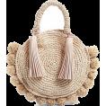 Sheryl Lee - Straw bag - round - Hand bag -