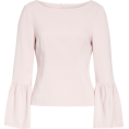beautifulplace - Stretch Suiting Bell Sleeve Top TIBI - Long sleeves shirts -