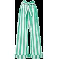 lence59 - Striped Cotton-Voile Wide-Leg Pants - Capri & Cropped -
