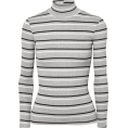 Aurora  - Striped Ribbed Top - Long sleeves t-shirts -