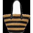 svijetlana2 - Striped straw market tote - Messenger bags - 476,74kn  ~ $75.05
