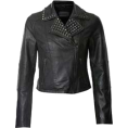 Mees Malanaphy - Studded leather jacket - Jacket - coats -