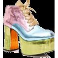 Jay Han - Sugar Thrillz Pastel Metallic Platforms - Platformke -