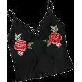 ValeriaM - SweatyRocks Women's Embroidered Cami - Tanks -