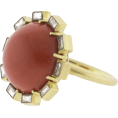 Mees Malanaphy - Sylva & Cie - Coral ring - Rings - $13,750.00