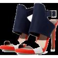 marija272 - THREE-TONE HIGH HEELED SANDAL - Sandals -