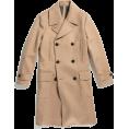 HalfMoonRun - TODD SNYDER camel coat - Jacket - coats -