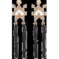 lastchance  - Tassel Linear Earrings - Earrings -