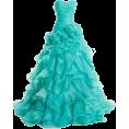 Bev Martin - Teal Gown - Dresses -